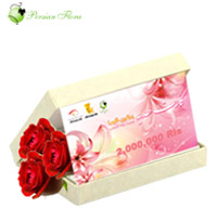 Rls 2,000,000<br> gift card + Roses