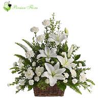 Basket of  Lily, Carnation