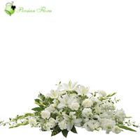 Basket of  Lily, Gladiolus, Carnation