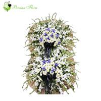 Stand of Gladiolus, Marguerite, Iris