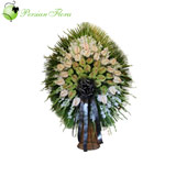 Stand of Anthurium, Gladiolus