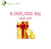 8,000,000 Rls<br>money transfer