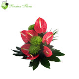 Basket of  Anthurium