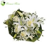 Wrap of  Lily, Rose, Alstremeria, Filler